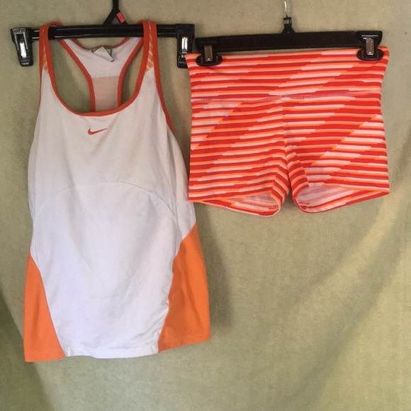 b9c3eb59 Nike Tops | And Marika Workout Set | Poshmark
